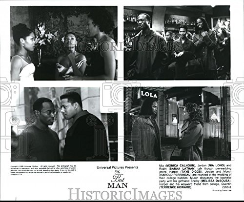 Press Photo Universal presents The Best Man with Monica Calhoun, Nia Long, Taye - 8.25 x 9.75 in. - Historic Images