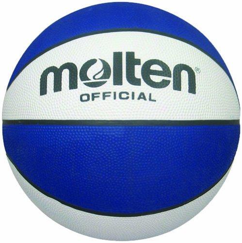 Molten Premium Rubber Basketball (Blue, Intermediate/Size 6) Review