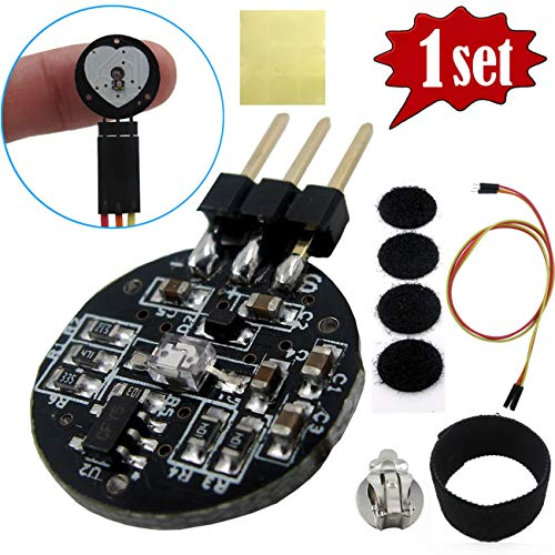 Tragoods Heart Rate Monitor Sensor for Arduino, Pulse Sensor Plug-in for Arduino, Pulse Sensor Pulsesensor Sensor Module