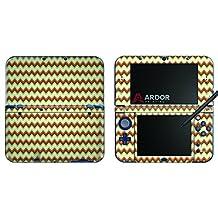 Orange Cream Aqua Chevron Nintendo 3DS XL Skin/Decal