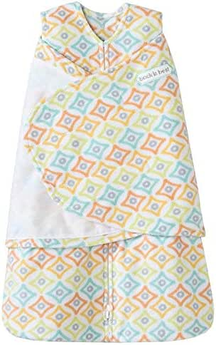 Halo Sleepsack Micro-Fleece Swaddle - Diamond - Newborn