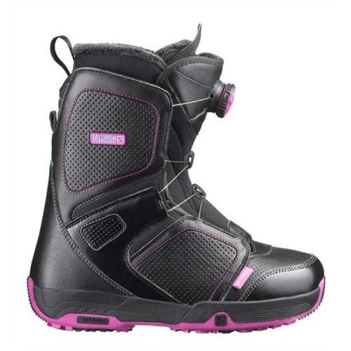 Salomon Damen Snowboard Boots schwarz 26 1/2
