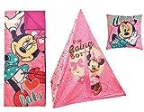 Disney Minnie Mouse Play Tent Slumber Set