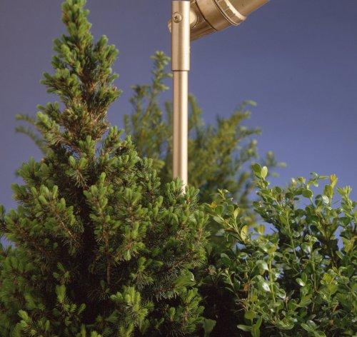 Kichler Lighting 15657BBR Inch Mounting Stem Spot Light, Bronzed Brass