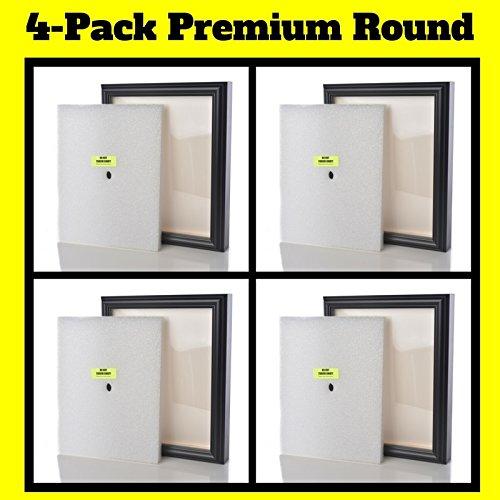 Shart Premium Round Black T Shirt Frame Display Case 11