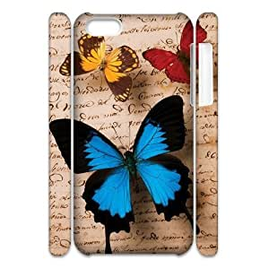 Butterfly 3D-Printed ZLB580783 Customized 3D Phone Case for Iphone 5C