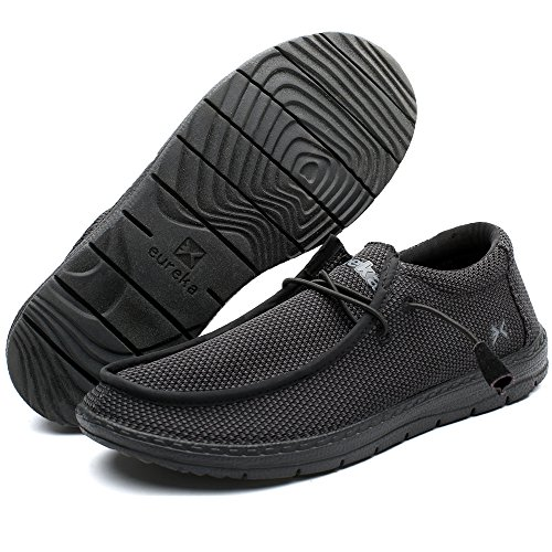 Traveler Pro Mens Casual Slip-On Sneaker, Comfort Stretch Moccasin Loafer and Walking Chukka Boot