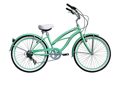 Micargi Bicycle Industries Tahiti 7-Speed Ride On, Mint G...