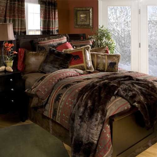 Carstens, INC JB4001-5 Comforter Set, Brown