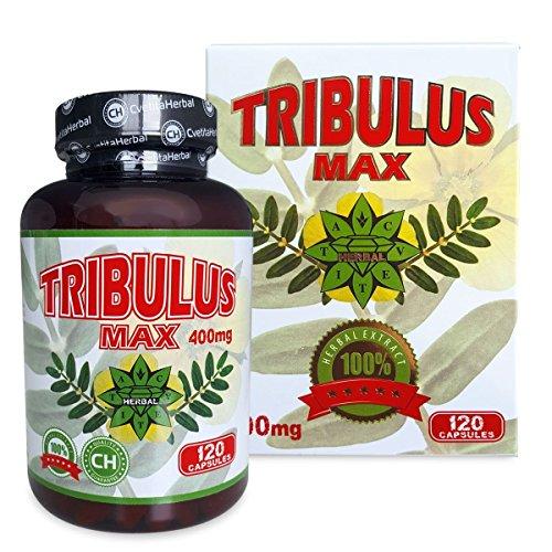 Bulgarian Tribulus Max - 400mg (per dose) x 120 Capsules | Cvetita Herbal...