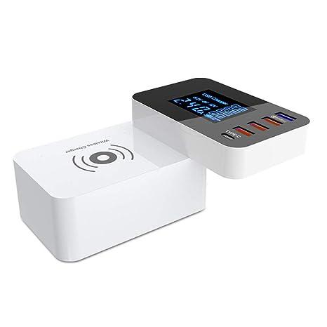 Cargador de múltiples funciones USB, carga rápida QC 3.0 ...