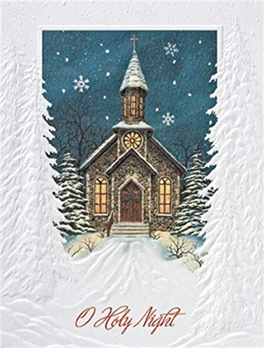 Pumpernickel Press Petite Boxed Christmas Cards, Holy - Night Holy Boxed