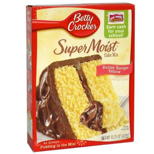 Betty Crocker Super Moist Yellow Cake Mix - 15.25 oz