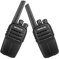 Retevis RT40 FRS Digital Walkie Talkie 48 CH Licence-free Two way Radio (Black,2 Pack)