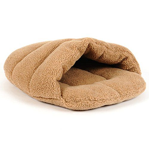Shaped Dog Cat - Bettli Slipper-shaped Washable Pet Bed Soft Dog House Cotton Cat Sleeping Bag (Size M).