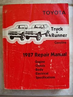 Amazon toyota pickup 4runner service manual including diesel 1987 toyota truck and 4runner gasoline repair manual fandeluxe Images
