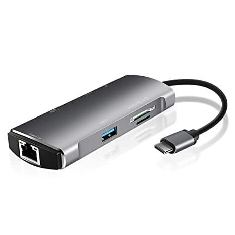 Lector de Tarjetas portátil USB 3.0 7 en 1, Lector de Tarjetas SD ...