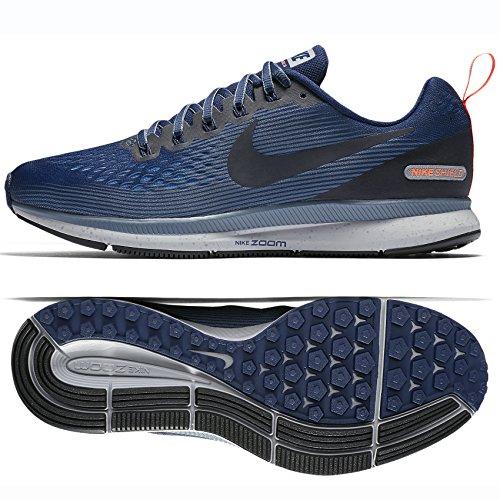 NIKE Mens Air Zoom Pegasus 34 Shield Running Shoes