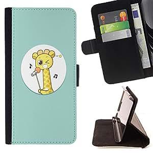Jordan Colourful Shop - FOR Samsung Galaxy Core Prime - ?you love is not happy - Leather Case Absorci¨®n cubierta de la caja de alto impacto