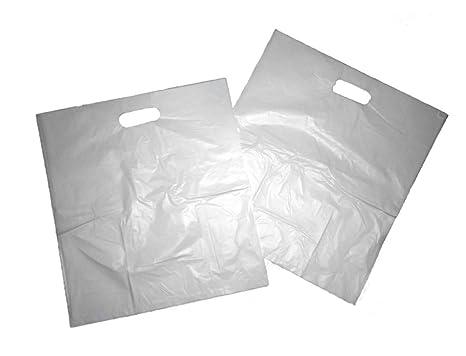 Thali Outlet - 100 x B2 Blanco parche bolsas de plástico ...