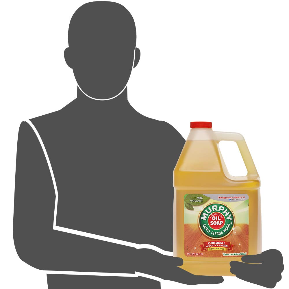 MURPHY OIL SOAP Wood Cleaner, Original, Concentrated Formula, Floor Cleaner, Multi-Use Wood Cleaner, Finished Surface Cleaner, 128 Fluid Ounce (US05480A) by Murphy Oil (Image #12)