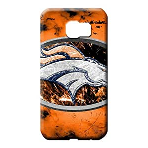 samsung galaxy s6 Strong Protect New skin phone carrying cases denver broncos