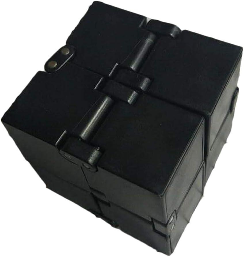 Jouet EDC Adulte Uyuke Galaxy Mini ABS Infinity Cube pour soulagement du Stress Fidget Anti-anxi/ét/é Anti-Stress pour Enfants