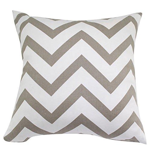 Square/Rectangle Wavy Moire Printed Cushion Cover ChezMax Cotton Throw Pillow Case Sham Slipover Pillowslip Pillowcase For Decor Decorative Home Sofa Bedroom