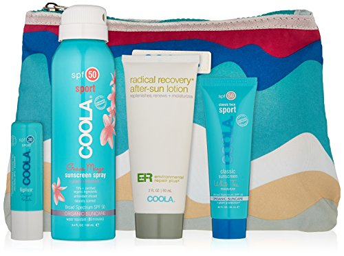 COOLA Suncare Sport Essentials Sport Travel Kit, 4 fl. oz.