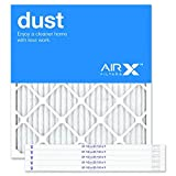 AIRx Filters Dust 21.5x23.5x1 Air Filter MERV 8 AC Furnace Pleated Air Filter Replacement Box of 6, Made in the USA