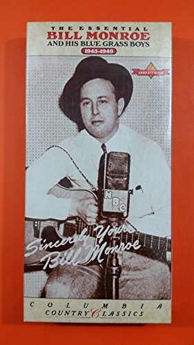Price comparison product image ESSENTIAL BILL MONROE AND HIS BLUEGRASS BOYS C2K 52478 CD Box Set SEALED