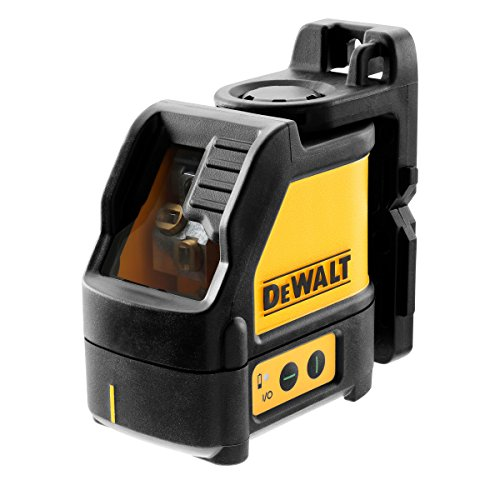 Dewalt DW088CG-XJ Green Beam Cross Line Laser with Carry Case, Yellow/Black