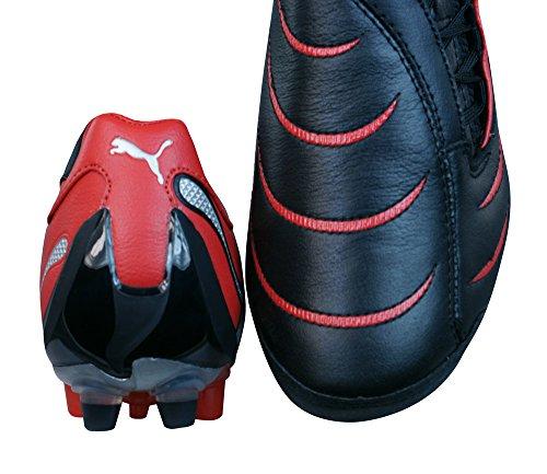 10 En Grass 2 Hommes Cuir Rouge Synth Noir De Football Pour Chaussures Powercat Puma BwS1zqEn
