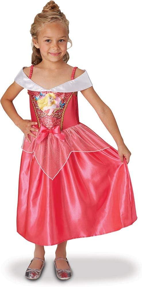 Princesas Disney - Disfraz de Bella Durmiente con lentejuelas para ...