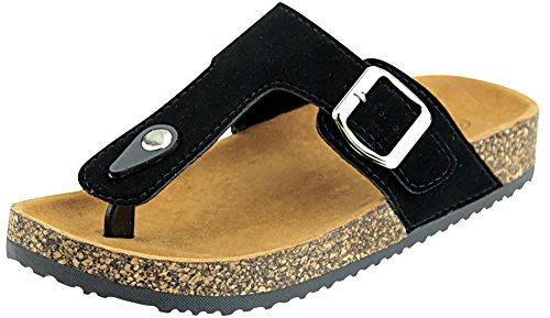 The A Suede Thong Sandal - 2
