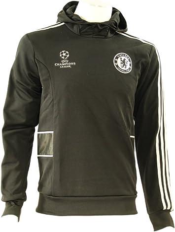 Adidas CFC EU HD Sweat Sudadera Sweatshirt Futbol Negro para Hombre UCL Chelsea: Amazon.es: Deportes y aire libre