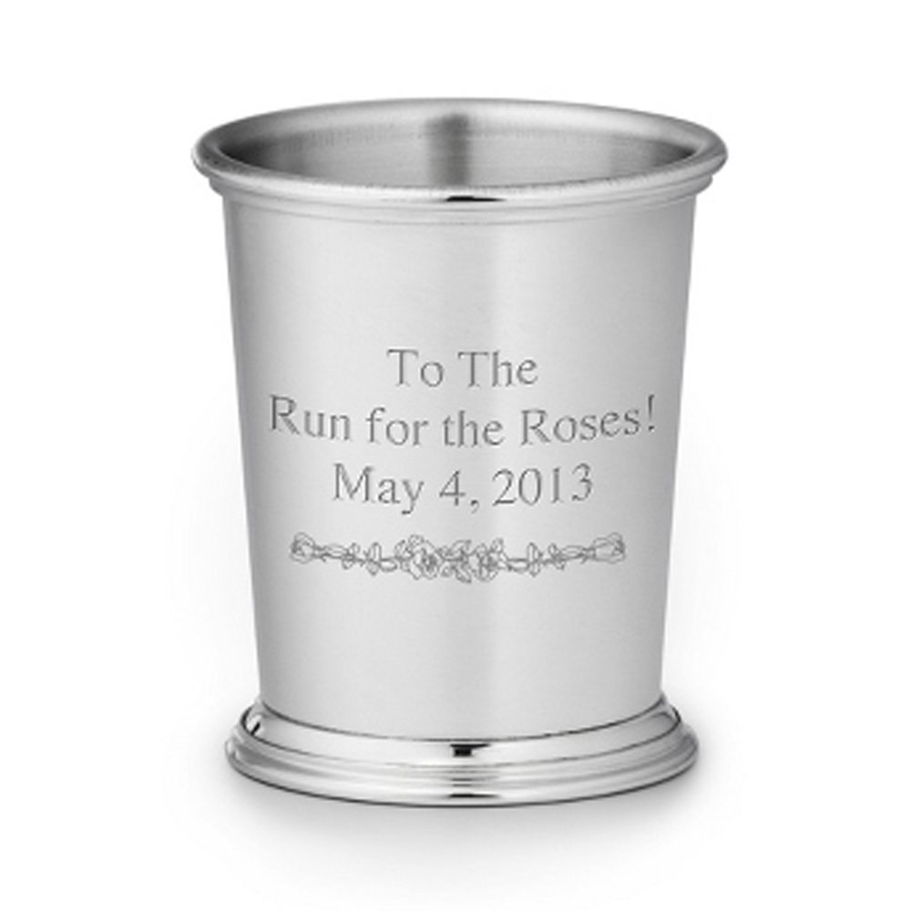 Personalized Silverplate Julep Cup