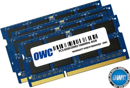 OWC 32.0GB (4 x8GB) PC8500 DDR3 1066 MHz 240 pin Memory Upgrade Kit For 2009 Apple iMac 27 inch by OWC