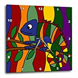 Cheap 3dRose dpp_195120_2 Colorful Chameleon Abstract Wall Clock, 13 by 13-Inch