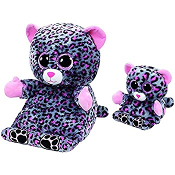 Amazon.com: Ty Trixi The Leopard Peek A Boo Tablet Holder & Phone ...