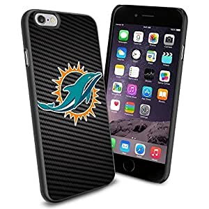 American Football NFL MIAMI DOLPHINS , Cool iPhone 6 Smartphone Case Cover Collector iphone TPU Rubber Case Black