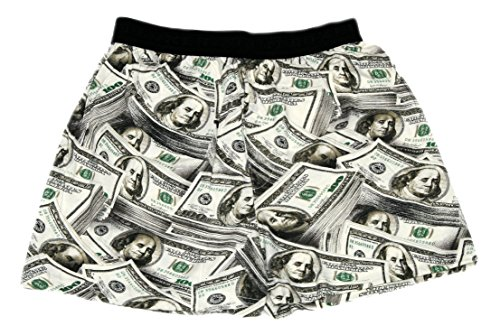 Fun Boxers Mens Boxer Shorts (Medium, Benjamins)