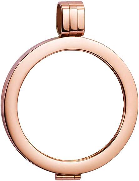 Münzfassung Silber 925 rosé vergoldet Durchmesser 13,2 bis 28,1 mm • Auswahl