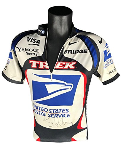 (Circa 2000, Lance Armstrong, Race Worn & Signed U.S. Postal Service Jersey - Autographed Olympic Jerseys)
