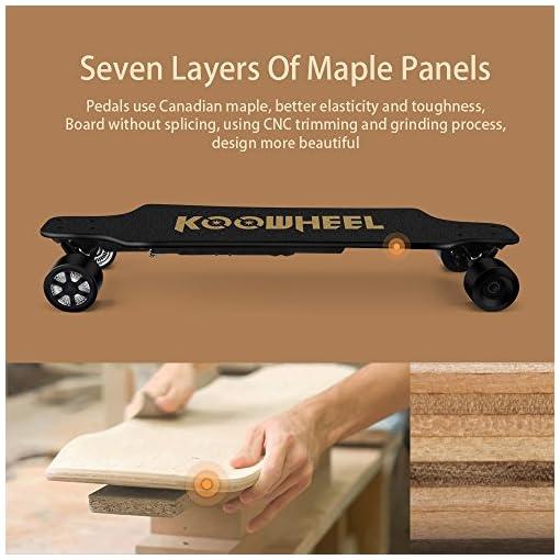 Koowheel Électrique Skateboard D3M 2nd Longboard Télécommande Skateboard 5500mAh