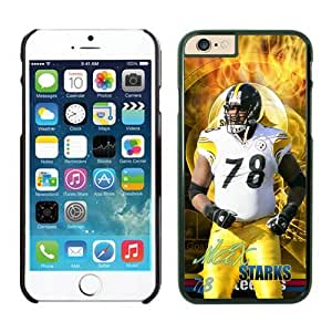 Pittsburgh Steelers Max Starks Case For iPhone 6 Plus Black 5.5 inches