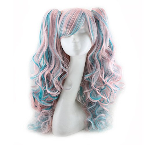 Pink Pigtails Cosplay Wig (26