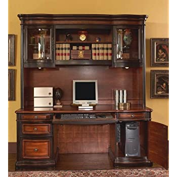 Amazon Com Home Office Computer Desk With Hutch In Two