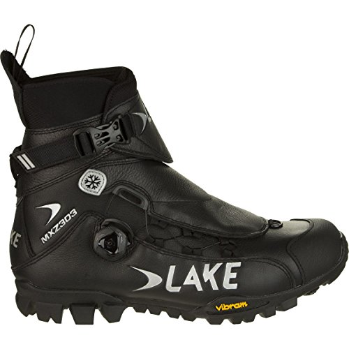 Lake MXZ303 Winter Boots Wide Men's Black, 39.0
