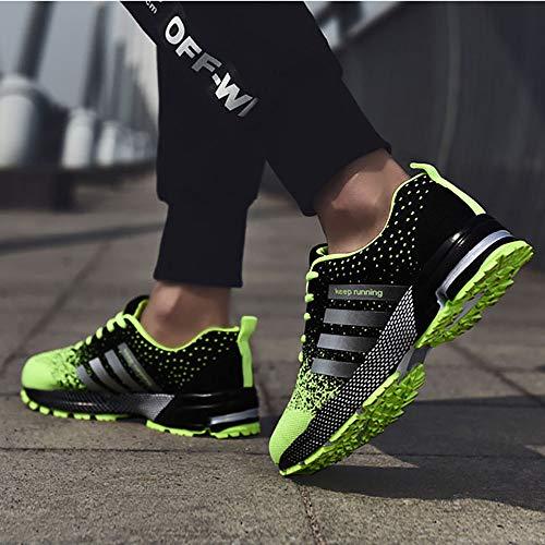 Pour Chaussures Hommes Goalsse Running Vert De twdggf